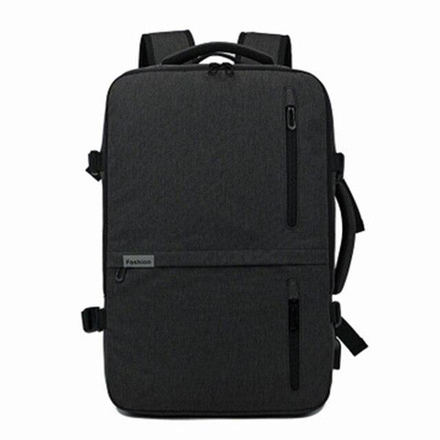 Laptop School Backpack Men Waterproof Travel Vintage Korean Style Backpack Leisure Business Travel Mochila Negra Big Backpack 11
