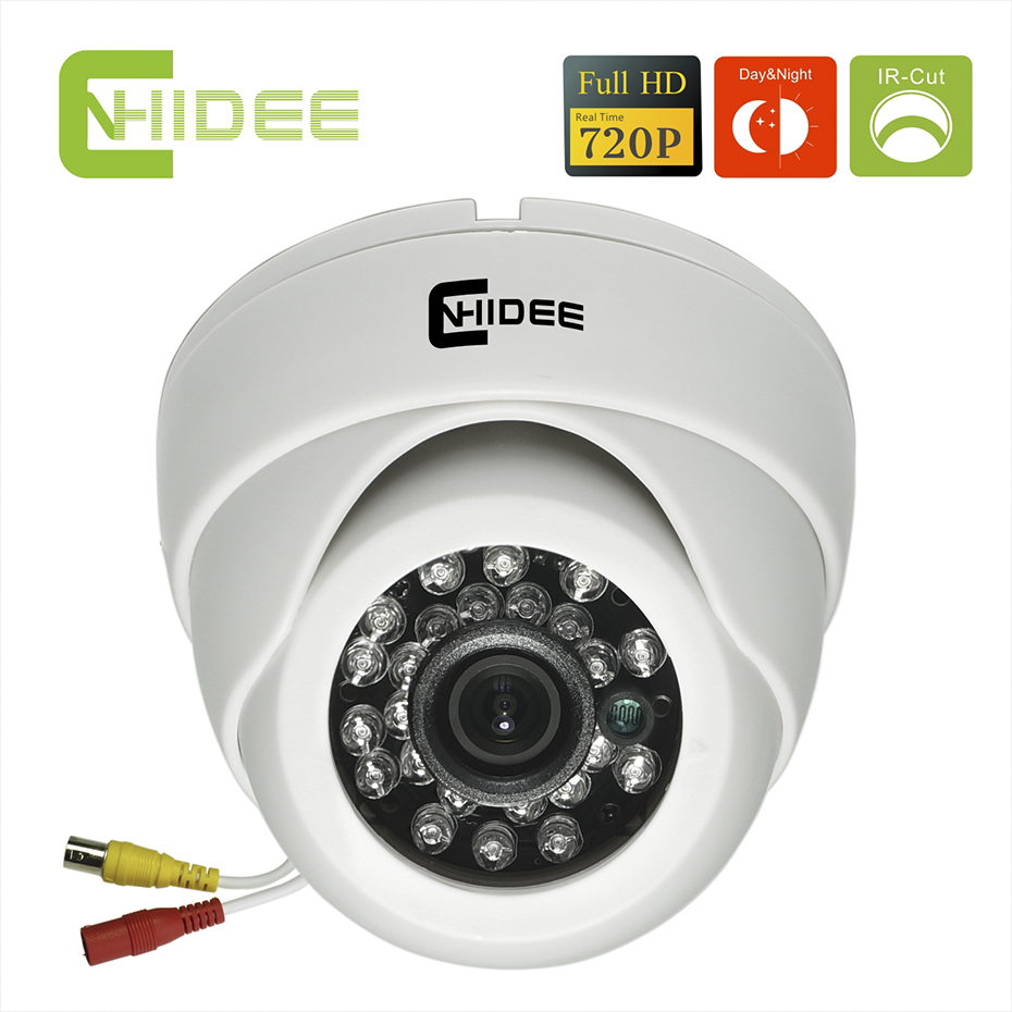 Cnhidee Security Camera HD 1200TVL CMOS 24 IR LED Color IR Night Vision Surveillance Dome CCTV Camera Home Indoor Video Camera . zea afs011 600tvl hd cctv surveillance camera w 36 ir led white pal