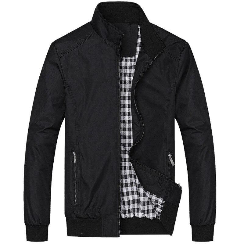 2018 novos Homens Jaqueta Moda Casual Solta Homens Sportswear Jaqueta Jaqueta Mens jaquetas e Casacos Plus Size M- 5XL