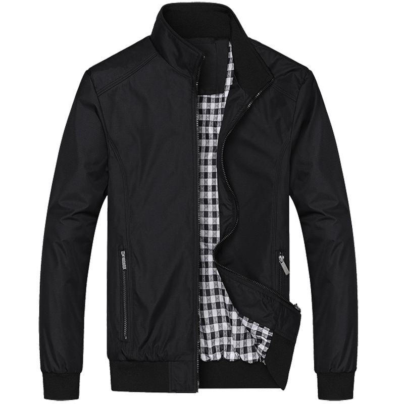 New 2018 Jacket Men Fashion Casual Loose Mens Jacket Sportswear Bomber Jacket Mens Jackets And Coats Plus Size M- 5XL