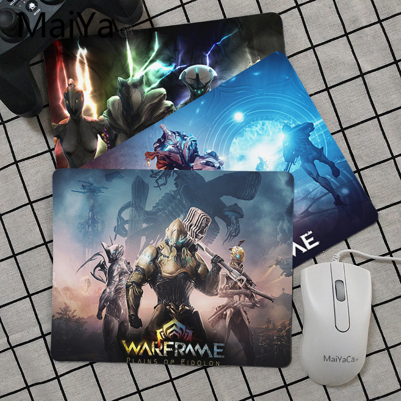 Maiya High Quality Game Warframe Beautiful Anime Mouse Mat Top Selling Wholesale Gaming Pad Mouse