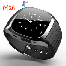 New Smartwatch M26 Sport Bluetooth Good Watch with LED Alitmeter Music Participant Pedometer for Android Good Cellphone