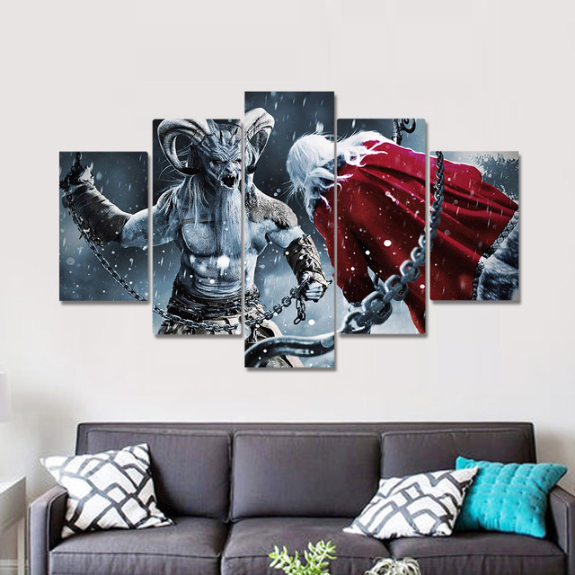 Unframed Canvas Painting A Christmas Horror Story Movie Poster