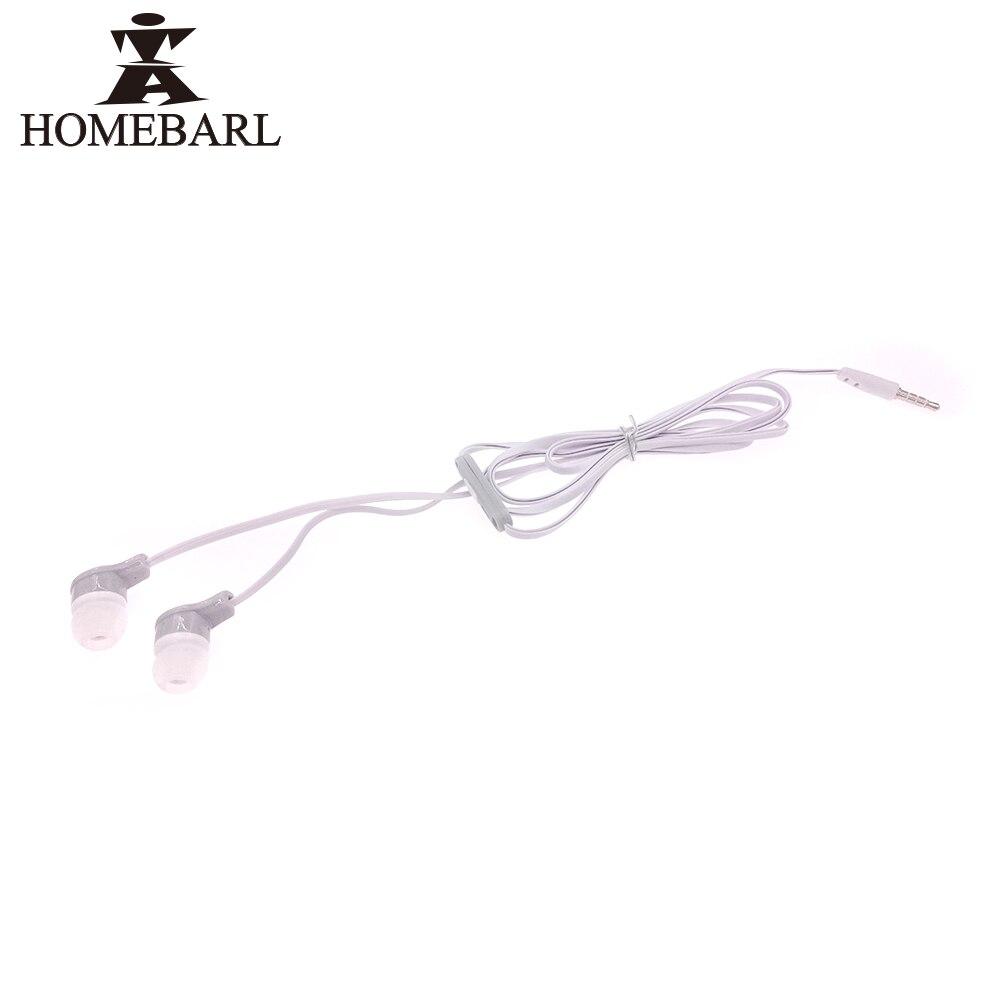 HOMEBARL J5 S4 Earbuds Universal In Ear Wire Earphone For Samsung Galaxy S3 S4 S5 S6 S7 Edge Note 3 4 5 6 With Mic Microphone 1B yl in ear earphones w mic line control for samsung galaxy n7100 note 3 n9000 pink 112cm