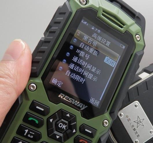 Quest T99 Rugged Phone Dual Sim Card Waterproof