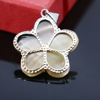34mm Natural Abalone seashells sea shells star pendant simpleness DIY short necklace Accessories Series making jewelry design
