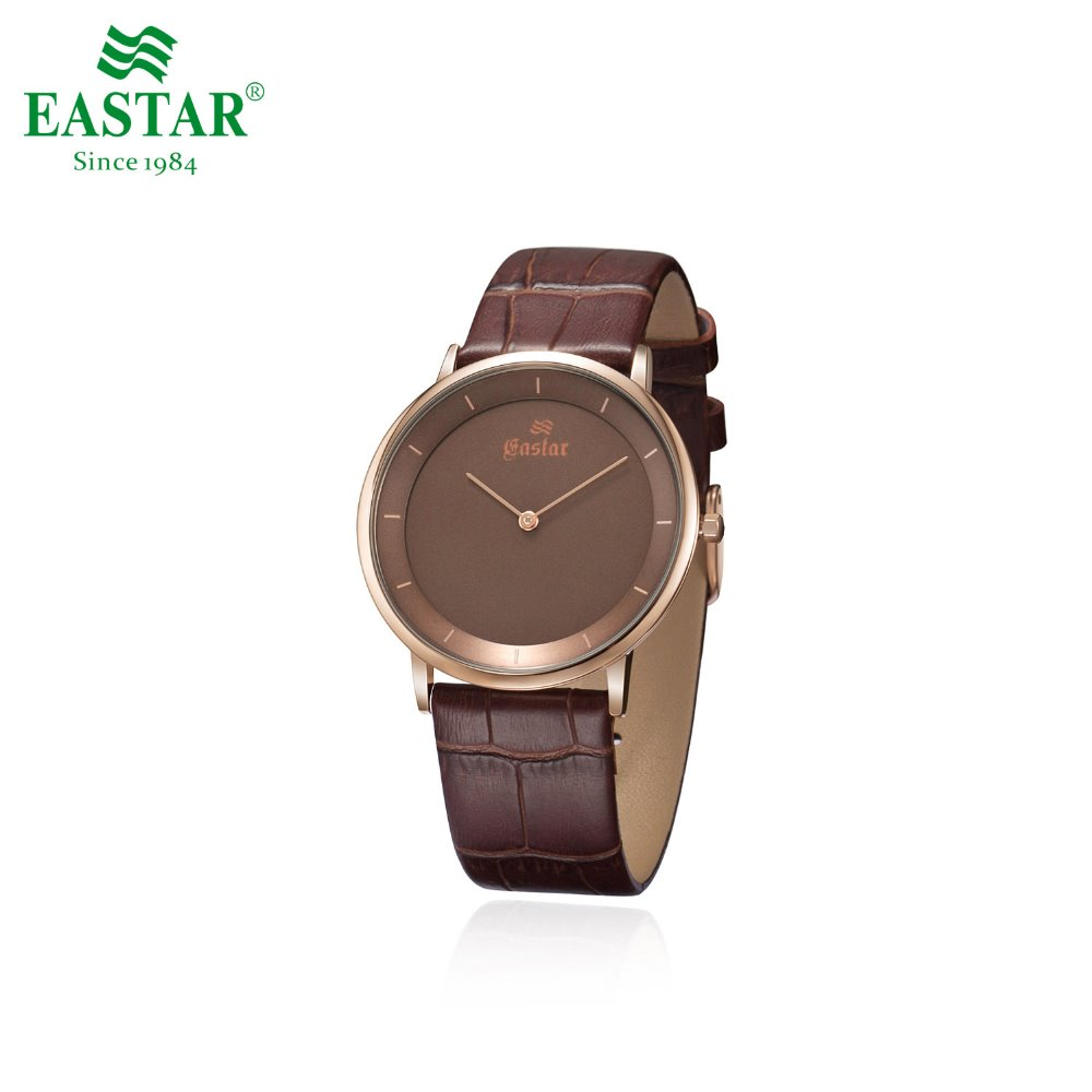 Eastar Elegant Waterproof Quartz Wrist Watch With Leather Band Casual And Simple DesignEastar Elegant Waterproof Quartz Wrist Watch With Leather Band Casual And Simple Design