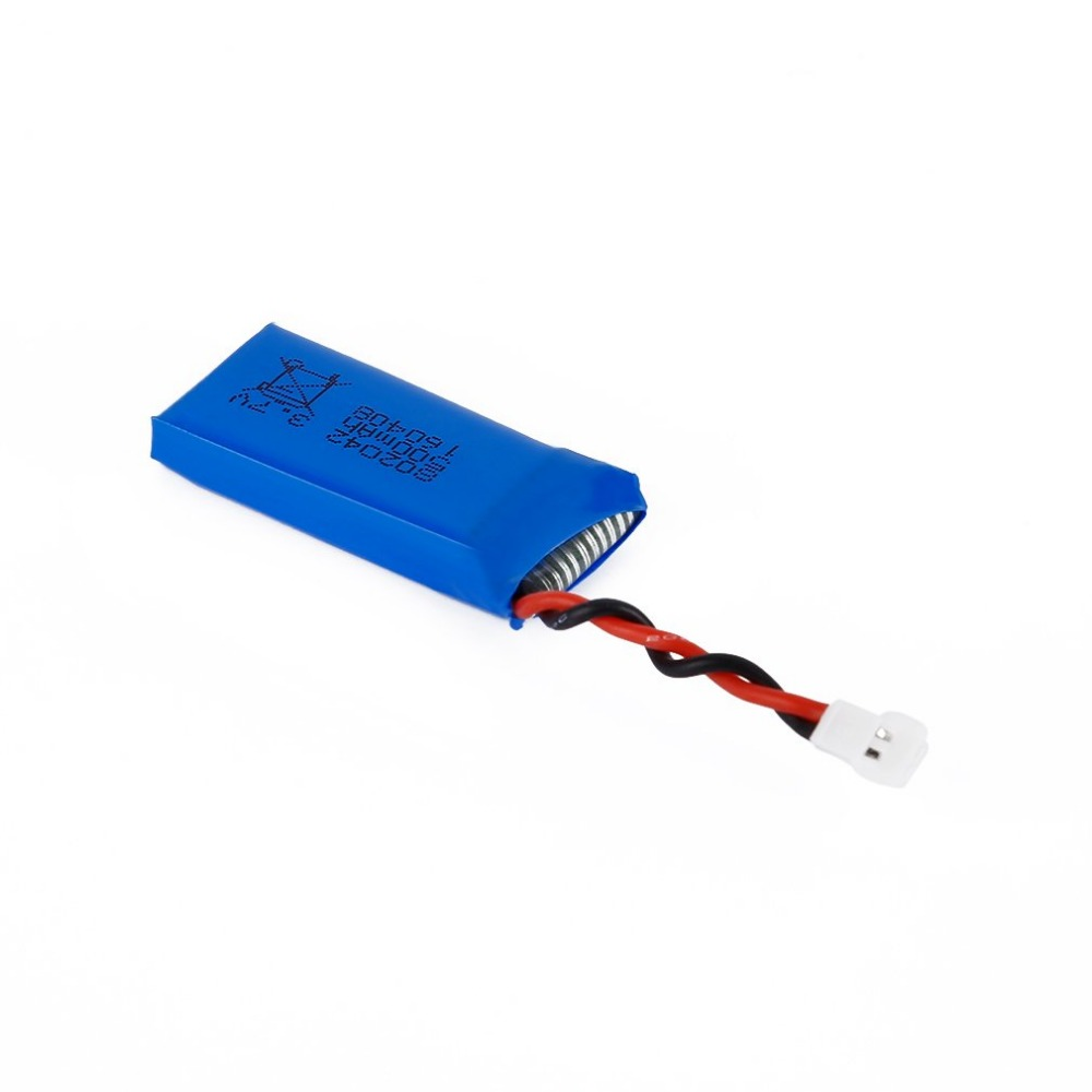 <font><b>3.7V</b></font> <font><b>500mAh</b></font> 25C <font><b>Li</b></font>-<font><b>Po</b></font> <font><b>Battery</b></font> For Hubsan X4 H107 H107L H107C H107D V252 JXD385 Remote Control Toys Parts & Accessories image