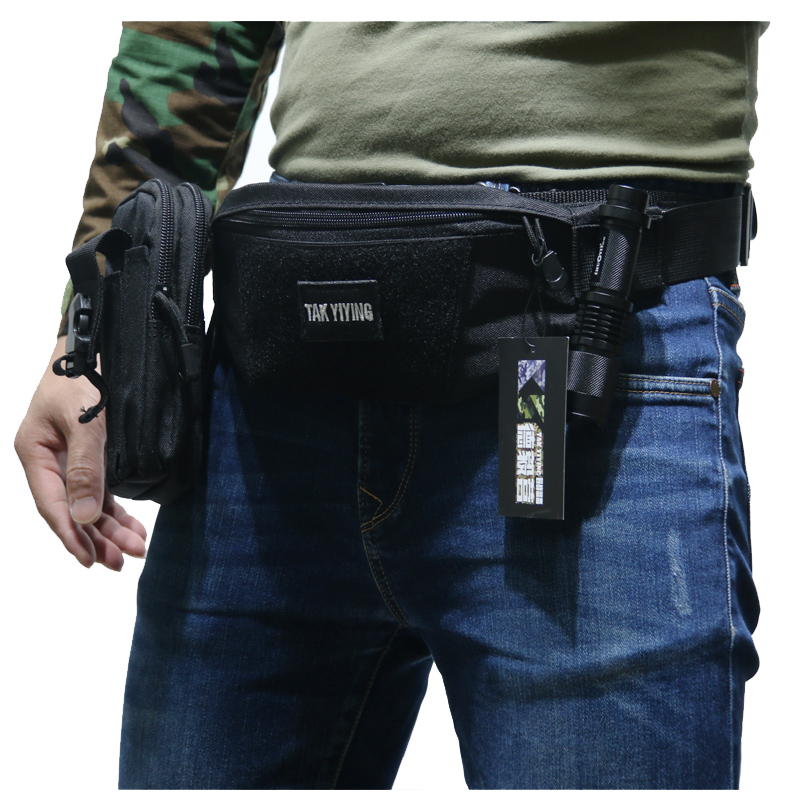 TAK YIYING al aire libre militar táctico cintura bolsa Waterpoof senderismo pesca deportes caza cintura bolsas deportes cintura paquetes