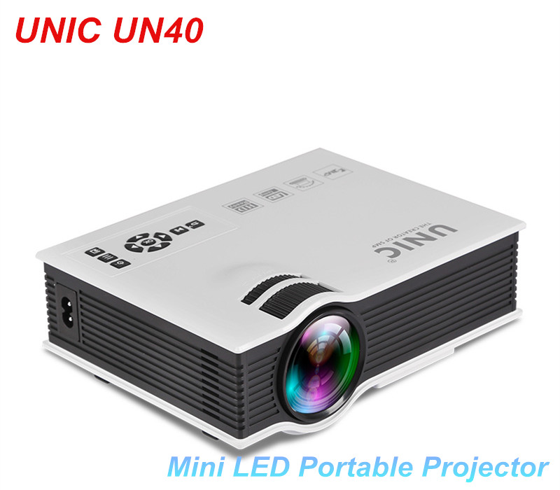UC40 Mini Pico portable 3D Projector HDMI Home Theater beamer multimedia proyector Full HD 1080P video projector 2015 newest original mini pico portable full hd 3d projector hdmi home theater beamer multimedia proyector full hd 1080p video