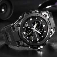 2019 New Style Military Men Sports Watches 50M Waterproof Luxury Sport Watch Men Quartz Digital watch Outdoor Diving Wristwatch