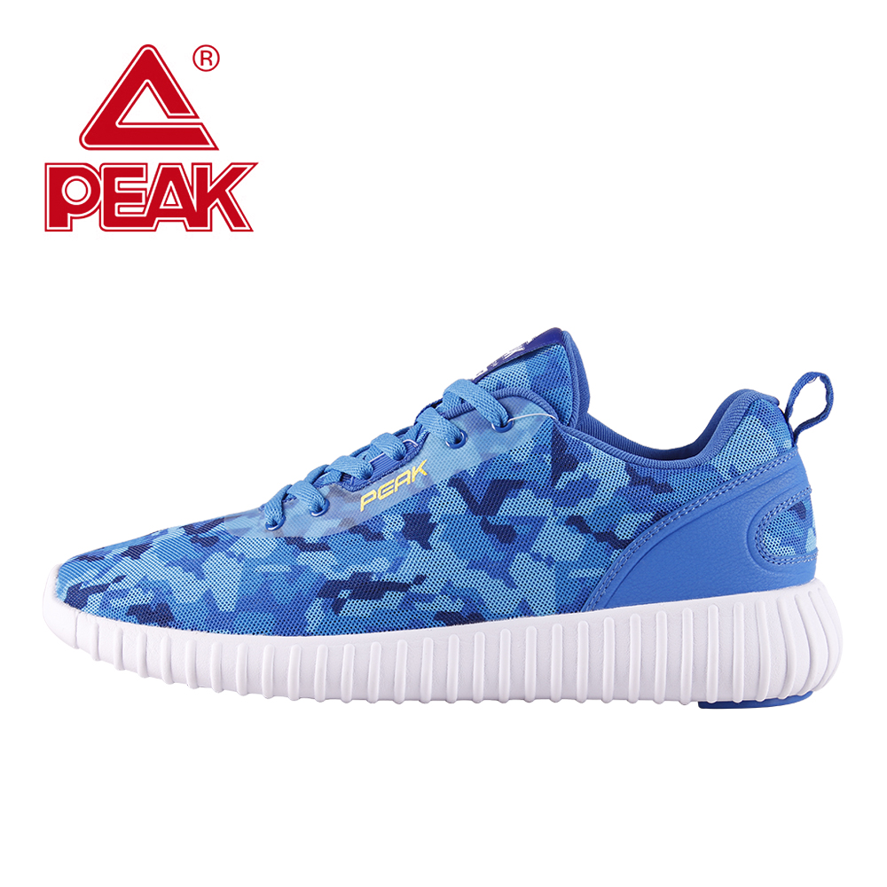 PEAK Ultra-Light Running Shoes Men Spring Summer Breathable Athletic Sport Shoes Mesh Men Shoes Outdoor Comfortable Sneakers kelme 2016 new children sport running shoes football boots synthetic leather broken nail kids skid wearable shoes breathable 49