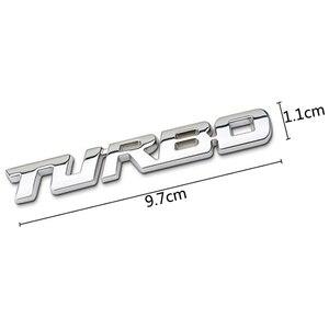 Image 5 - 3D Auto Sticker Metalen TURBO Embleem Lichaam Achterklep Badge Voor Ford Focus 2 3 ST RS Fiesta Mondeo Tuga ecosport Fusion