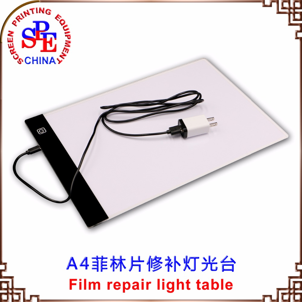 Film Repair Light Table Screen Printing  Make Plate