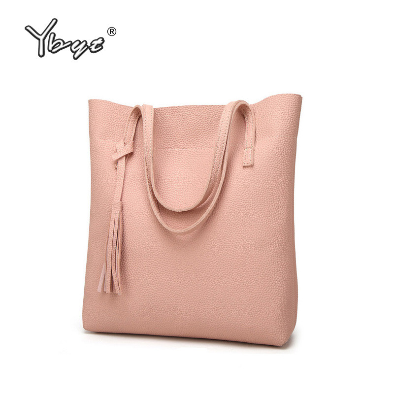 YBYT brand 2017 new simple casual large capacity women handbags satchel ladies shopping totes shoulder messenger crossbody bags forudesigns casual women handbags peacock feather printed shopping bag large capacity ladies handbags vintage bolsa feminina