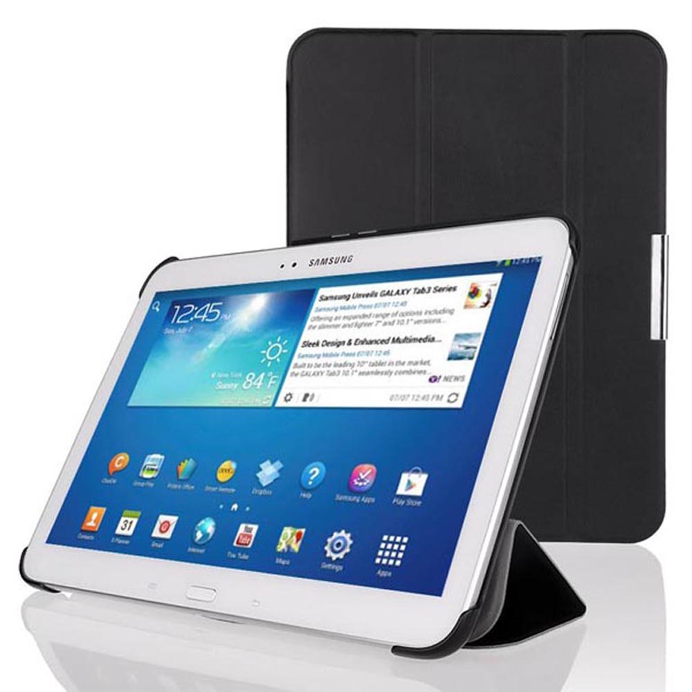 FREE shipping gt p5200 p5210 p5220 ultrathin slim smart cover case for Ssamsung Galaxy Tab 3 10.1 smart cover case autosleep
