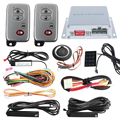 Car alarm system PKE smart key, touch password entry& power saving remote engine start starter & push start stop button