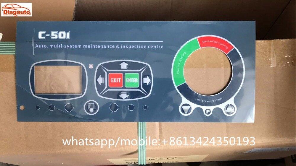 Liberal Panel Inglés De Tektino C-501 O Inj-6b Inyector Probador Y Limpiador Boquilla Lavadora Teclado Conveniente Para Cocinar