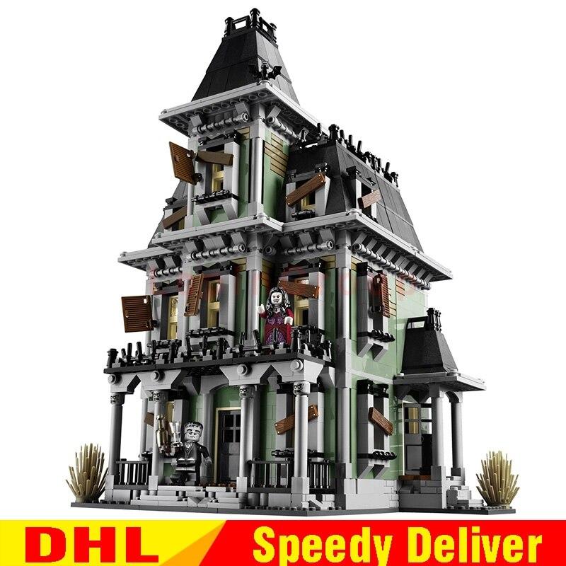 LP 16007 2141 Pcs Monstro lutador A casa assombrada Modelo conjunto Modelo de Construção Kits Brinquedos LPings Clone 10228