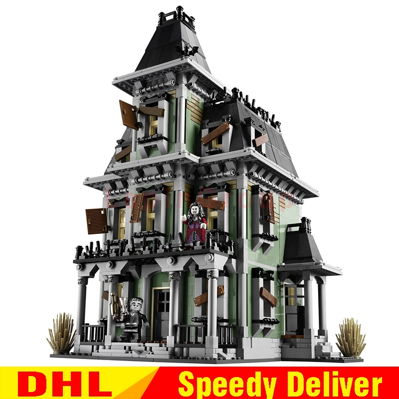 LP 16007 2141Pcs Monster fighter The haunted house Model set Building Kits Model LPings Toys Clone
