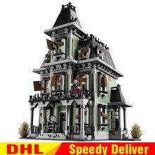 LP 16007 2141 шт монстр-истребитель дом с привидениями Модель Набор строительных комплектов модель LPings игрушки Клон 10228