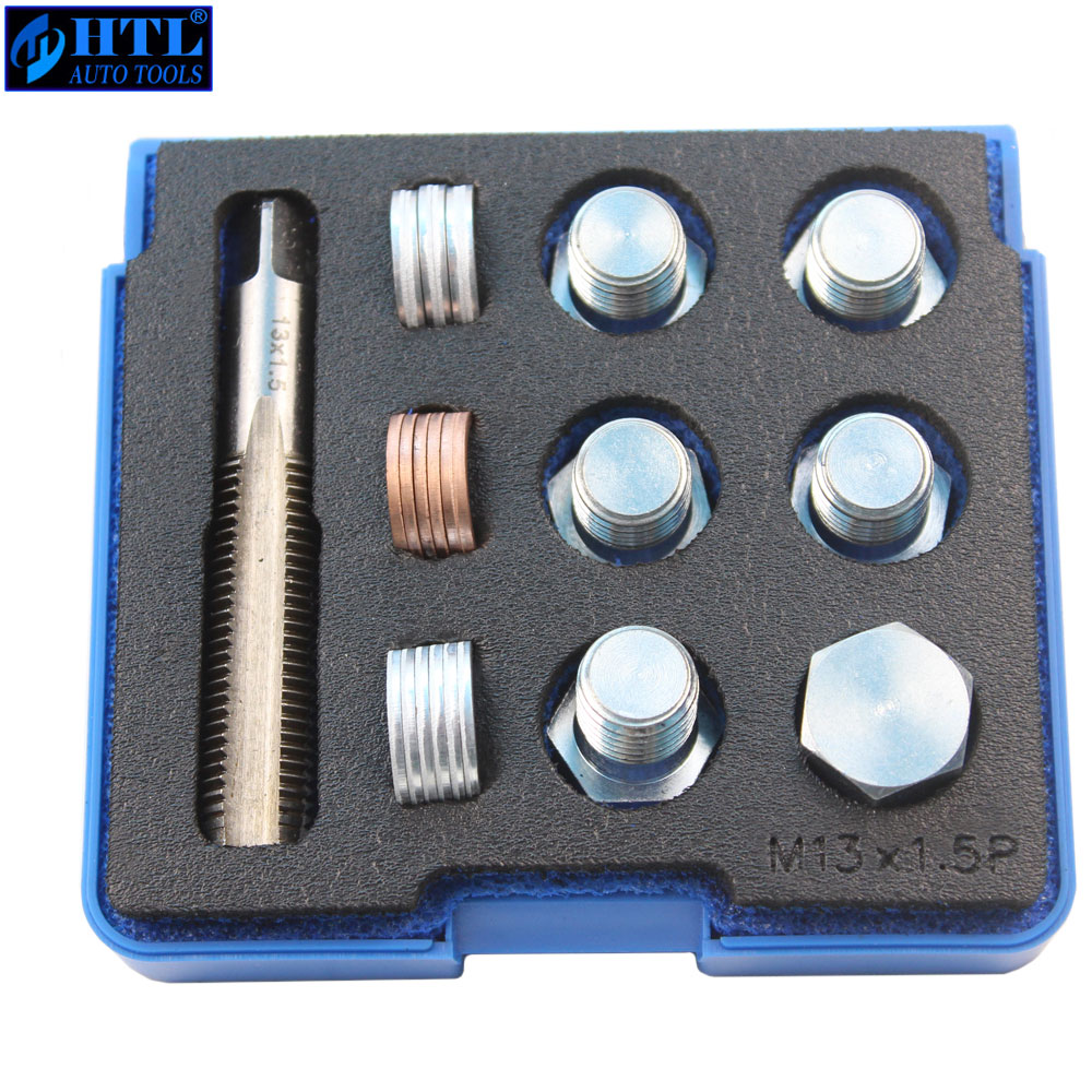 M13 X 1.25 To M22 X 1.5mm (pitch) Tap & Oil Drain Plug Screws Repair Bolt Select M13 M15 M17 M20 M22