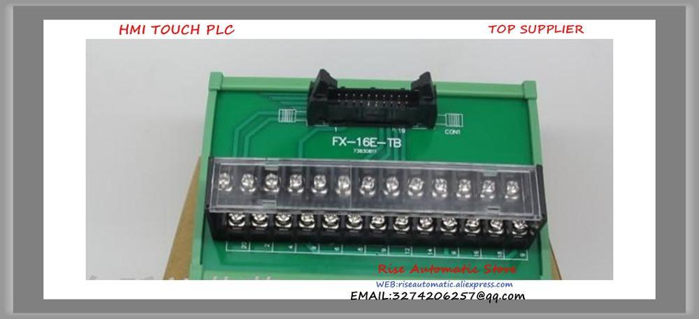 FX-16E-TB PLC Remote Terminal Block NewFX-16E-TB PLC Remote Terminal Block New