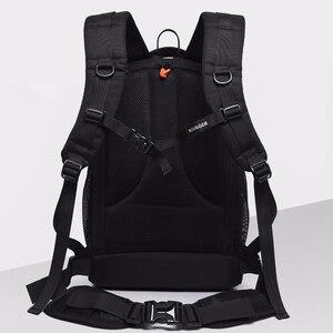 Image 4 - wholesale free shipping  NOVAGEAR 80404 big one Professional digital camera bag slr anti theft  camera backpack fashion