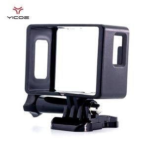 Image 4 - EKEN H9R SJCAM SJ4000 WiFi 액션 스포츠 카메라 플라스틱 테두리 보호 케이스 하우징 버클 기본 마운트 커버에 대 한 프레임 셸