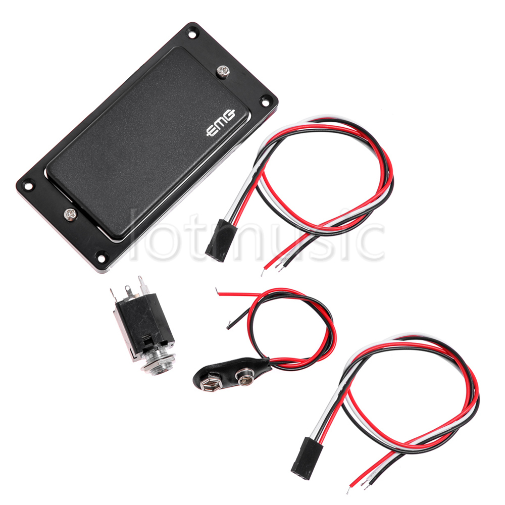 emg 81 85 active pickup closed type electric guitar pickups power