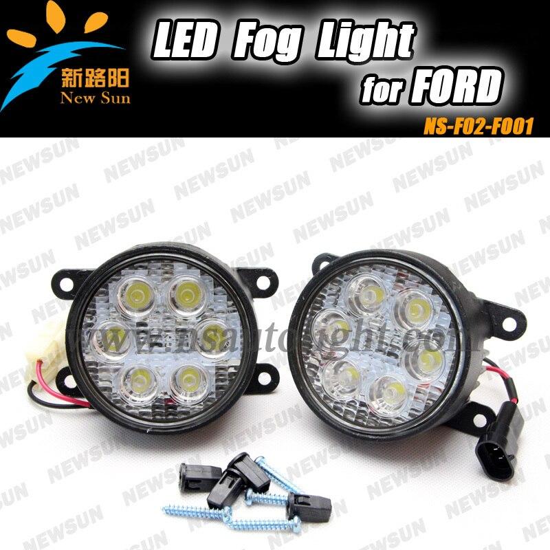 цена на Led front Fog lamp fog Lights LED Daytime running drl light For PEUGEOTFor RENAULT MEGANE SUZUKI CITROEN MITSUBISHI OUTLANDER