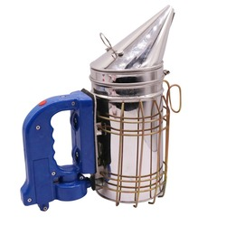 1 pcs Bee Farm Electric Smoke Machine Stainless Steel Bee Smokers Smoked Device Does Not Harm The Bees Beekeeper Hand Tools