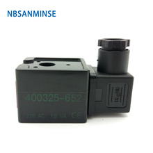 цена на NBSANMINSE 20pcs/lot A044 Pneumatic Solenoid Valve Coil DC12V DC24V AC110V AC220V For Pulse Jet Valve dust proof valve
