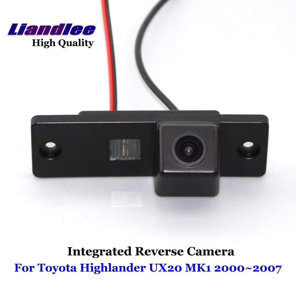 Liandlee Автомобильная камера заднего вида для Toyota Highlander UX20 MK1 2000 ~ 2007 заднего вида, парковочная резервная камера/Встроенная SONY