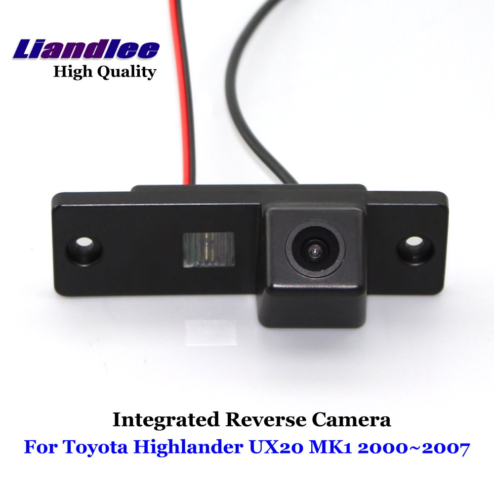 Liandlee Car Rear View Camera For Toyota Highlander Ux20 Mk1 2000 2007 Rearview Reverse Parking Backup Integrated Sony