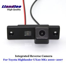 Liandlee Car Rear View Camera For Toyota Highlander UX20 MK1 2000~2007 Rearview Reverse Parking Backup Camera / Integrated SONY new high quality rear view backup camera parking assist camera for toyota 86790 42030 8679042030
