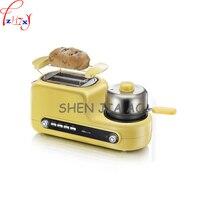 220 v 가정용 다기능 아침 식사 기계 토스터 튀긴 계란 찐 빵 찐 계란 아침 식사 기계 1080 w 1 pc
