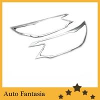 Chrome Head Light Cover for Honda CRV 2012 Up