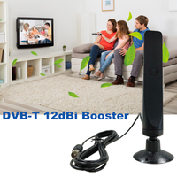 dvb digital 2pcs Eoth מקורה 12dBi Digital TV אנטנה מגבר עבור DVB-T Digital פריוויו Antena דיגיטלי HDTV Booster Antenne עבור טלוויזיה HD (1)