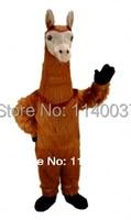 MASCOT Llama Mascot Costume Cartoon Character carnival costume fancy Costume party