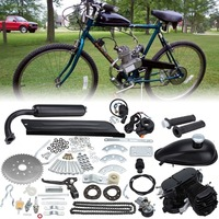 Sale Time limited 2 stroke Cycle Motor Muffler Motorized Bicycle Bike Engine Gas Kit For 80cc