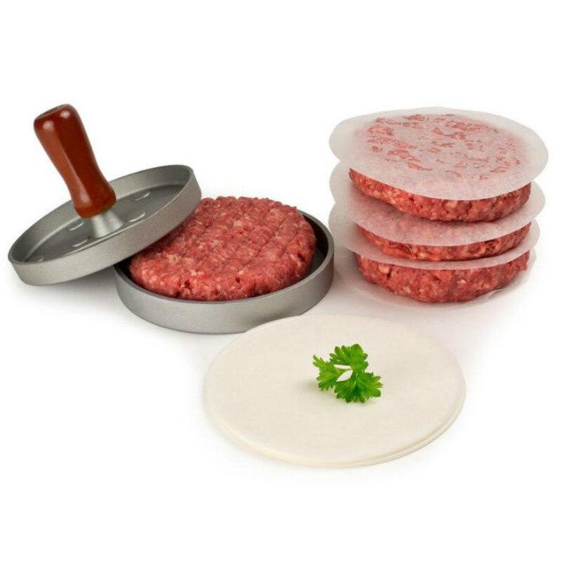 1 satz 12 cm Hamburg fleisch presser Form DIY Runde Hamburger Rindfleisch Grill Burger Nicht Stick Presse Patty Maker Kochen werkzeuge Gadgets
