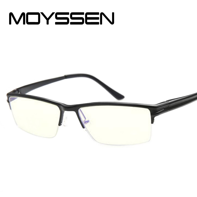 Men Anti Radiation Glare Blue Ray Film Glasses Frame Magnesium Alloy