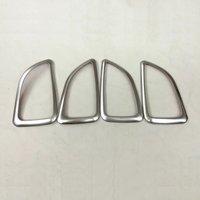 For HYUNDAI IX35 2010 To 2013 2014 ABS Chrome Car Interior Trim Door Handle Bowl Decoration