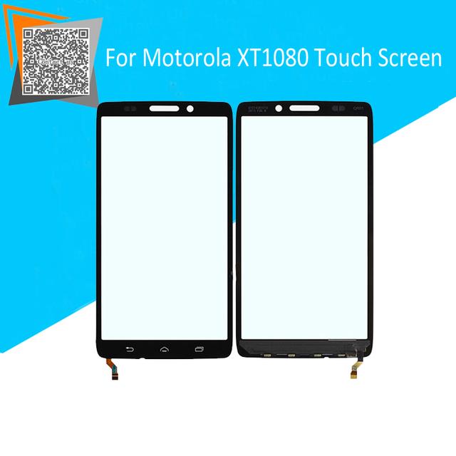 Marca nova tela de toque para motorola droid ultra xt 1080 xt1080 toque substituição digitador sensor de vidro exterior