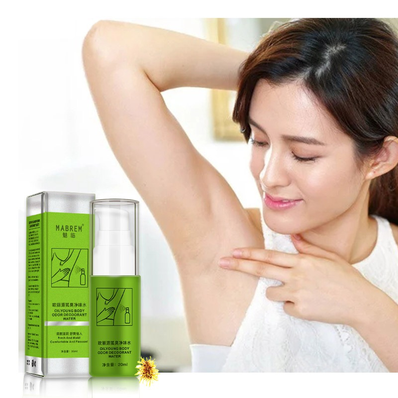 2019 Natural Remove Armpit Foot  Body Odor Deodorizer Eliminate Bad Smell Antiperspirants Bodys Spray