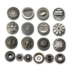 50sets/lot lion head crown cow haed design 15mm nickle color fashion metal snap button sewing accessories leather craft deco