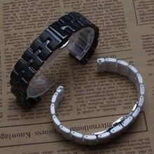 16mm correa de reloj de alta calidad Reloj de Cerámica Nunca se desvanecen accesorios de diamantes Relojes para mujer pulsera de moda pulido brillante nuevo