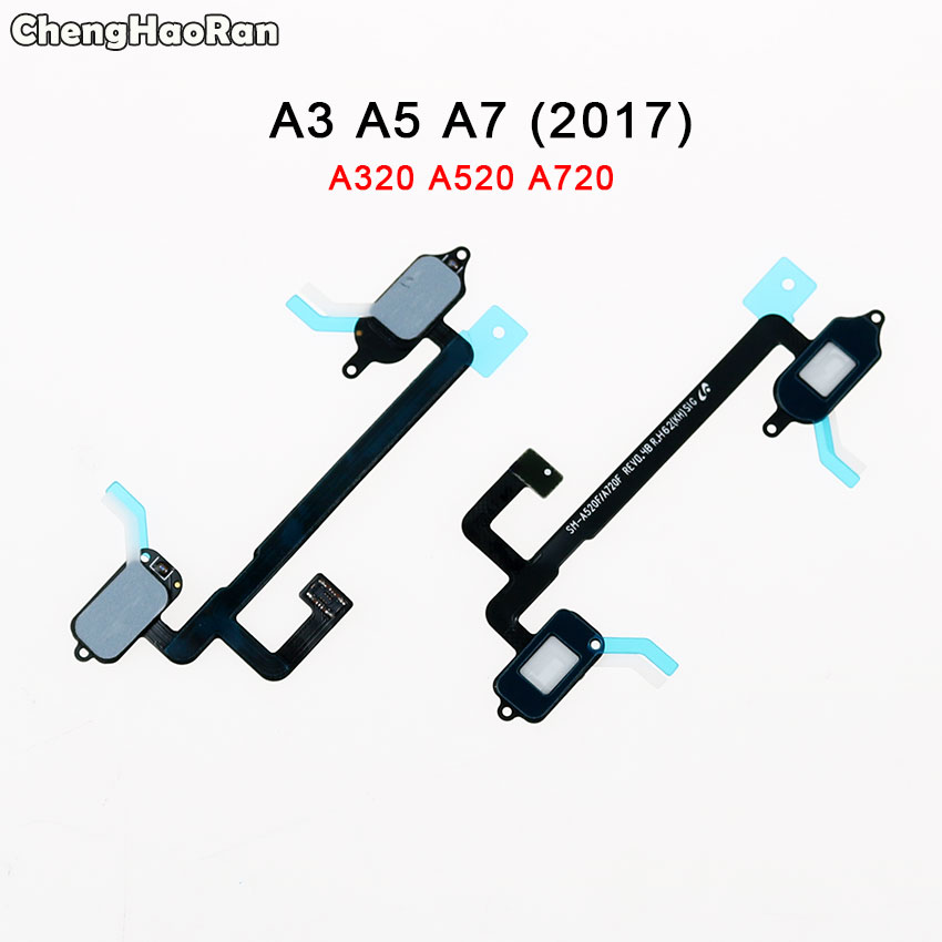 ChengHaoRan Home Button Touch Light Sensor Flex Cable Ribbon Replace Part For Samsung Galaxy A3 A5 A520 A520F A7 A720F (2017)