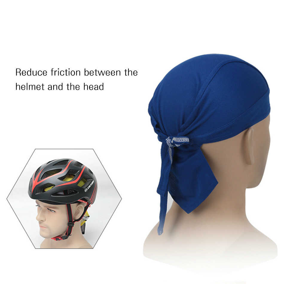 ... WorthWhile Cycling Bike Cap Pirate Hat Quick Dry Headband for Bicycle  Riding Bandanas Scarf Summer Women ... 42066a1ed59c